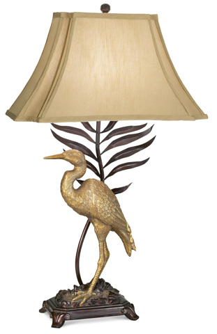 Pacific Coast Lighting - Whispering Palms Table Lamp - 87-1585-22