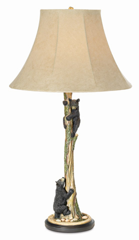 Pacific Coast Lighting - Climbing Bears Table Lamp - 87-1761-81