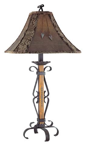 Pacific Coast Lighting - El Paso Table Lamp - 87-268-9F