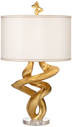 Pacific Coast Lighting - Tribal Impressions Table Lamp - 87-6026A-7L