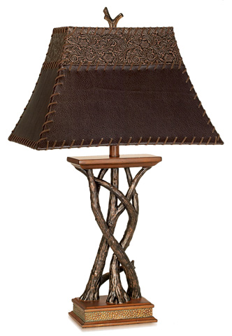 Pacific Coast Lighting - Montana Reflections Table Lamp - 87-6188-9G
