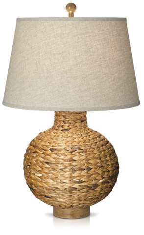 Pacific Coast Lighting - Seagrass Bay Round Table Lamp - 87-6402-48