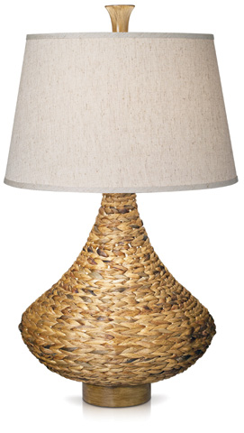 Pacific Coast Lighting - Seagrass Bay Table Lamp - 87-6403-48