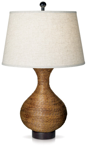 Pacific Coast Lighting - Pacific Reed Vase Table Lamp - 87-6404-38