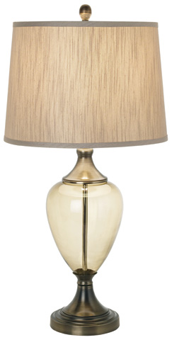 Image of Olive Glow Grand Table Lamp
