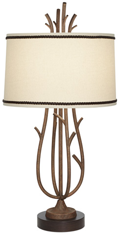 Pacific Coast Lighting - Rustic Twig Cage Table Lamp - 87-7000-59