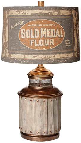 Pacific Coast Lighting - Old Mill Table Lamp - 87-7003-9C