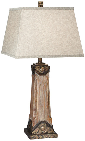 Pacific Coast Lighting - Sierra Grande Table Lamp - 87-7009-9G