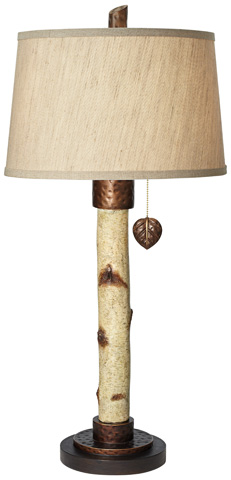 Pacific Coast Lighting - Birch Tree Table Lamp - 87-7011-48