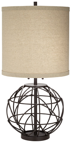 Pacific Coast Lighting - Alloy Globe Table Lamp - 87-7070-20