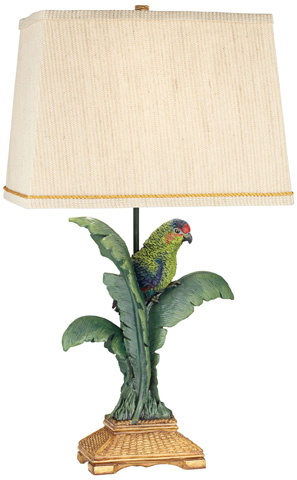 Pacific Coast Lighting - Tropical Parrot Table Lamp - 87-7265-81