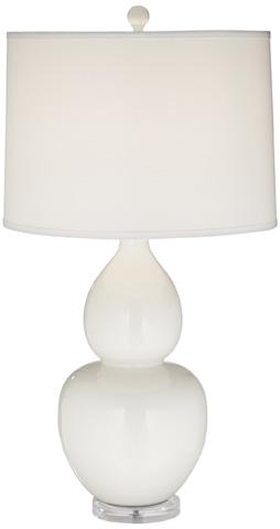Pacific Coast Lighting - White Contempo Table Lamp - 87-7309-70
