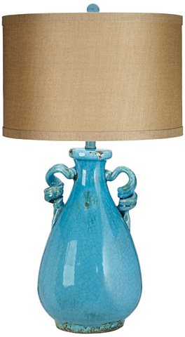 Pacific Coast Lighting - TL-Urban Pottery Jar Table Lamp - 87-7359-95