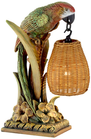 Pacific Coast Lighting - Parrot Paradise Table Lantern - 87-7410-81