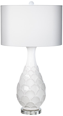 Pacific Coast Lighting - Pacific Fan Table Lamp - 87-7574-70