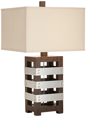 Pacific Coast Lighting - Crate Table Lamp - 87-7703-21