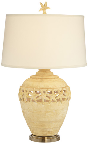 Pacific Coast Lighting - Starfish Kiss Table Lamp - 87-7904-60
