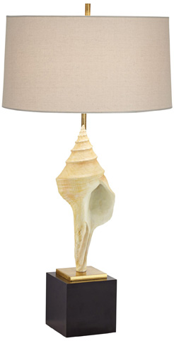 Pacific Coast Lighting - Hilo Shell Table Lamp - 87-7920-48