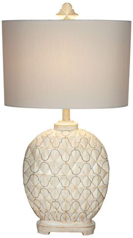 Pacific Coast Lighting - Alabaster Africa Table Lamp - 87-80-10