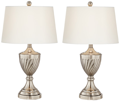 Pacific Coast Lighting - Silver Plate Table Lamp - 87-8187-82