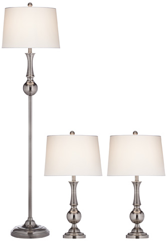 Pacific Coast Lighting - The Frenchman Pack of 3 Lamps - 87-8189-82