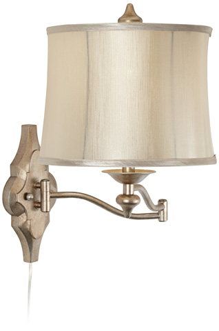 Pacific Coast Lighting - Moroccan Mist Swing Arm Wall Lamp - 89-5762-2A