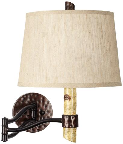 Pacific Coast Lighting - Birch Tree Swing Arm Wall Lamp - 89-5776-48
