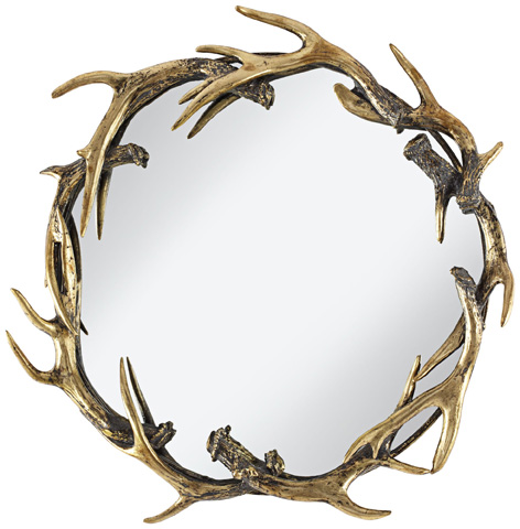 Pacific Coast Lighting - Caribou Small Mirror - 82-9107-76