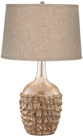 Pacific Coast Lighting - Basket Weave Table Lamp - 87-7997-25
