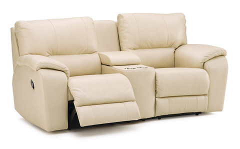 Palliser Furniture - Console Loveseat with Cup Holder - 41077-58