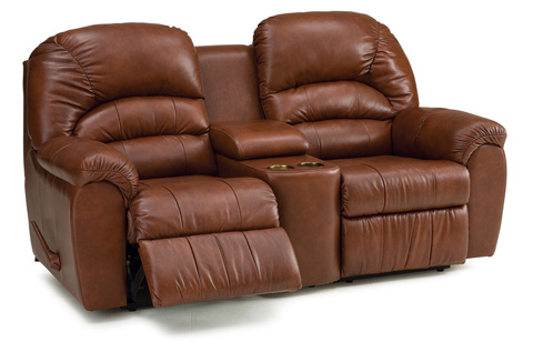 Palliser Furniture - Console Loveseat with Cup Holder - 41093-58