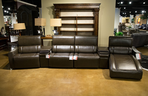 Image of Motivo Home Theatre Seating Set