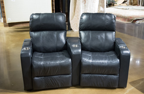 Image of Elite Two Piece Reclining Home Theatre Seating