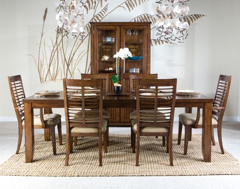 Palmetto Home - Eco Jack Dining Table with Six Chairs - 101 SET