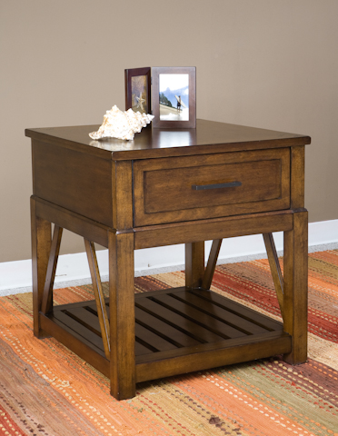 Image of Eco Jack One Drawer End Table