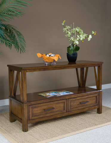 Image of Eco Jack Two Drawer Sofa Table