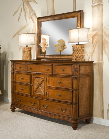 Image of Bow Front Dresser