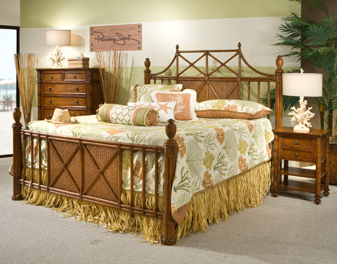 Image of King Bamboo Bed