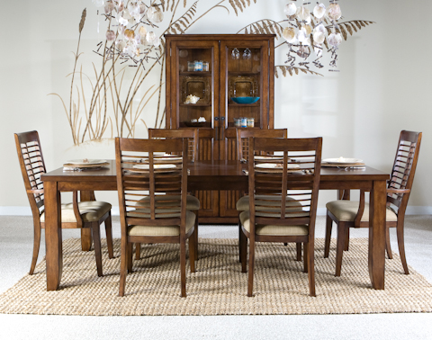 Image of Eco Jack Dining Table with Six Chairs