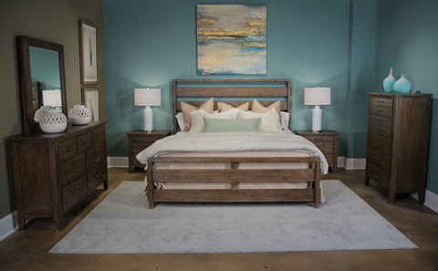 Image of Driftwood Collection Queen Bedroom Set