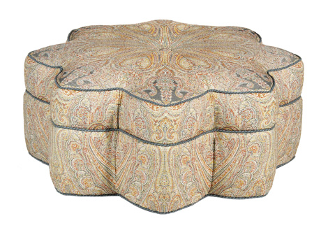 Pearson - Star of India Ottoman - 190-00