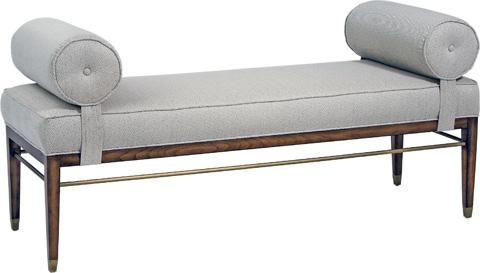Pearson - Rolled Cushion Arm Bench - 200-00