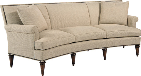 Pearson - Curved High Back Sofa - 2434-30