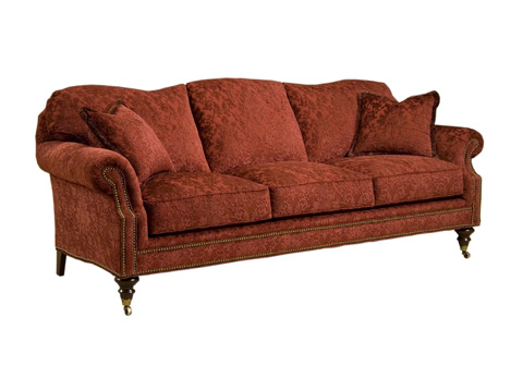 Pearson - Three Cushion Sofa with Casters - 2718-30