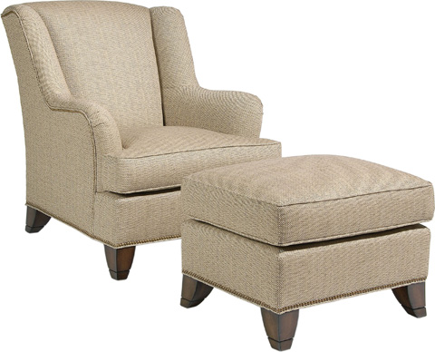 Pearson - Curved Wing Chair - 282-00