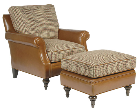 Pearson - Traditional Rolled Arm Accent Chair - 335-00