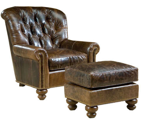 Pearson - Tufted Back Lounge Chair - 407-00