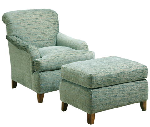 Pearson - Scroll Back Accent Chair - 409-00