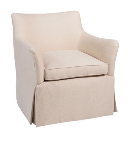 Pearson - Skirted Bow Arm Chair - 630-00