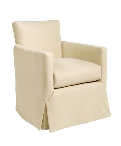 Pearson - Skirted Track Arm Chair - 650-00